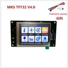 MKS TFT32 V4.0 сенсорный экран всплеск ЖК-дисплей смарт-контроллер сенсорный TFT 32 дисплей RepRap TFT монитор экран ЖК-дисплей для 3d принтера