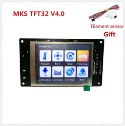 MKS TFT32 V4.0 touch screen splash lcds smart controller touching TFT3.2 display RepRap TFT monitor creen lcd for 3D Printer