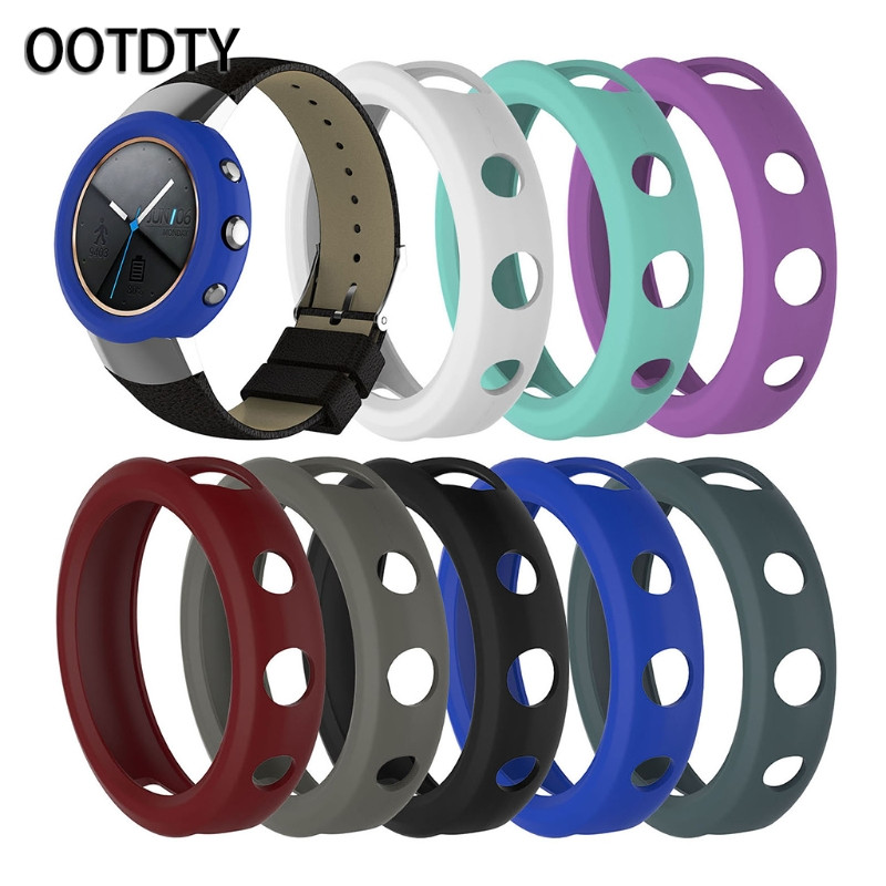 OOTDTY Smart Protector Case Shock-proof Sport Soft Silicone Protector Cover Case Shell For ASUS ZENWATCH 3
