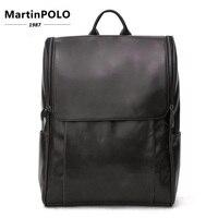 Мужской модный рюкзак мужской винтажный рюкзак для путешествий Mochilas школьная мужская кожаная деловая сумка большая сумка для ноутбука
