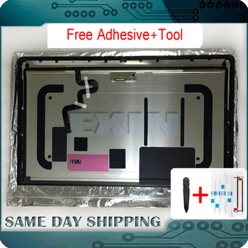 Original New for iMac 27'' A1419 5K LCD Screen w/ Front Glass Assembly Mid 2014 Mid 2015 Late 2015 Year 661-00200 661-03255