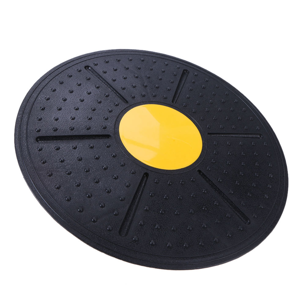 360 Degree Rotating Pilates Yoga Balance Mat Board Multi-functional Recovery Training Equipment Gym Fitness Mat 35cm Diameter multi functional intramuscular injection training pad