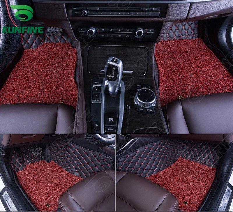 Top Quality 3D car floor mat for FIAT Viaggio foot mat car foot pad with Thermosol coil Pad 4 colors Left hand driver top 10 viaggio di nozze