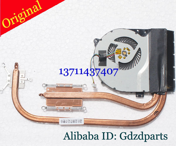 Original for ASUS X550VC X550V X550J X550LB X550LD fan heatsink test good free shipping 13N0-PGA0201 13NB00S1AM0201