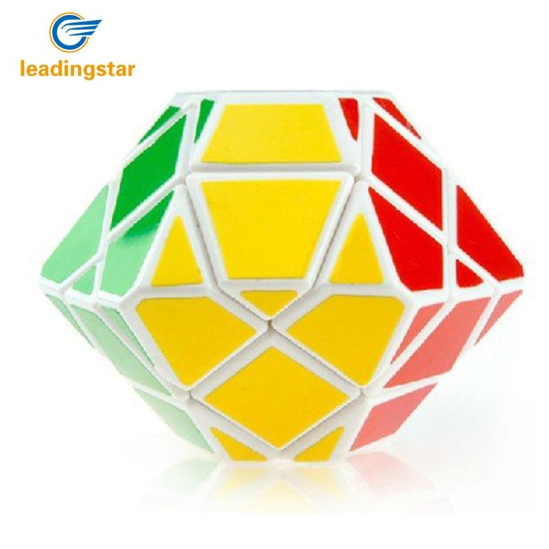 LeadingStar Free Shipping DianSheng UFO Magic Cube Puzzle Cube White zk25