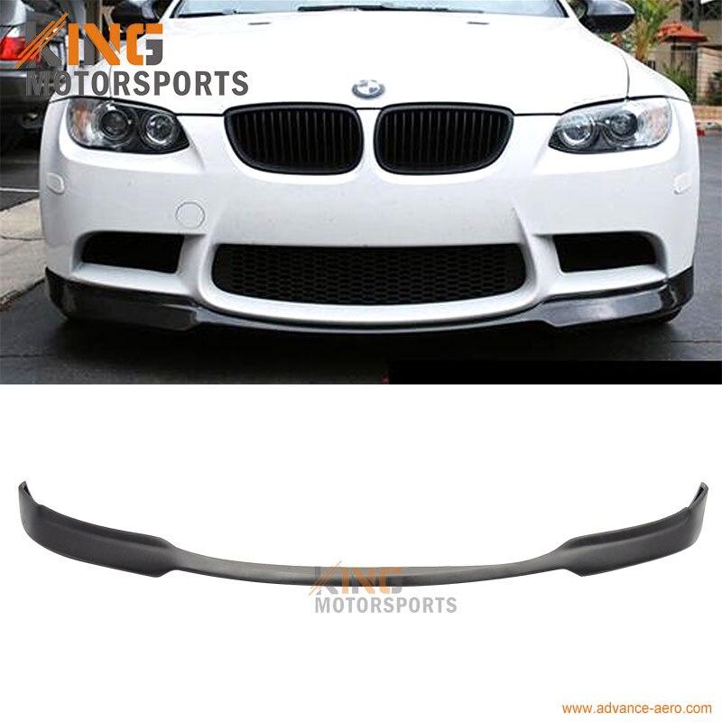 For 2008 2009 2010 2011 2012 BMW E90 E92 E93 M3 AC-S Style Polyurethane PU Front Bumper Lip