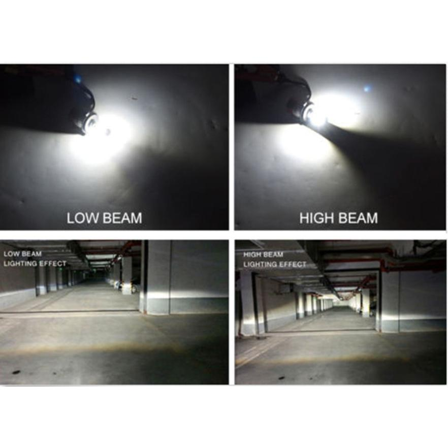 2018 New Car styling H4 180W 18000LM LED Headlight KIT HIGH LOW Beam Replace Halogen Xenon Working efficiency 85%