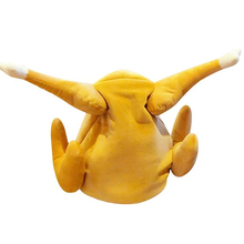 baby push toys Funny Plush Chicken Leg Hat Sing and Dance El