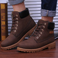 2016 Winter New  Men Martin Boots British Style High To Help Male Warm Boots Fashion Trend Casual Nubuck Leather Shoes Men Boots