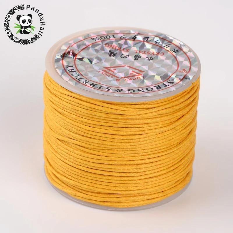 cotton thread 5 m wax band cotton cord blue cotton band 5 m jewelry ribbon waxed cord 1 mm jewelry thread jewelry ribbon