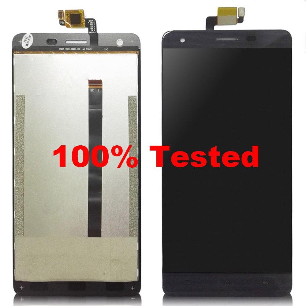 imágenes para K6000 negro Para Oukitel Accesorios LCD Display + Touch Screen Asamblea Digitalizador Reparación del Reemplazo + herramientas Gratuitas