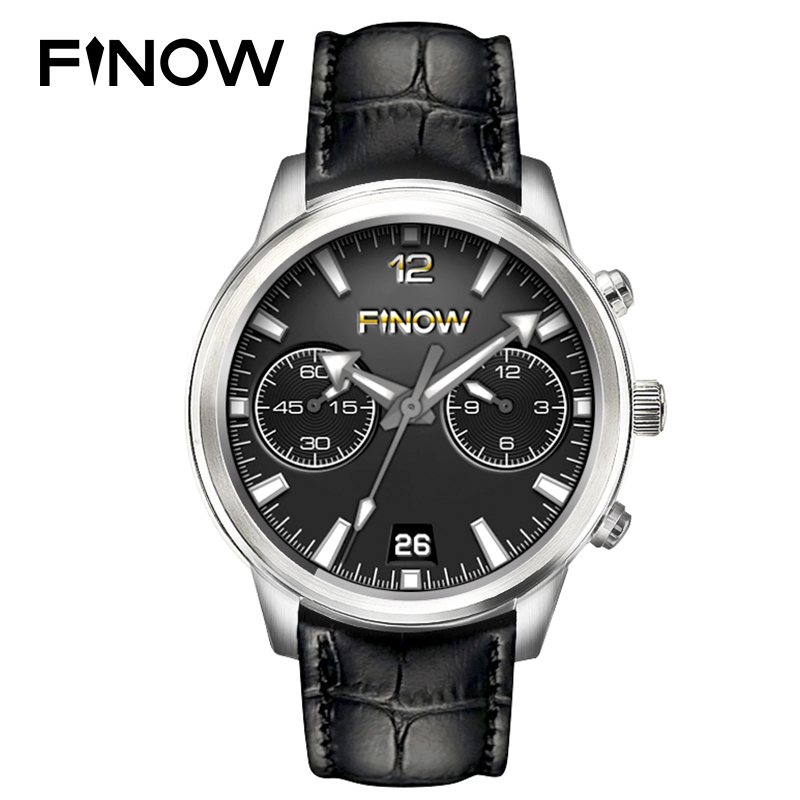 Finow X5 Air Smart Watch Men Ram 2GB/Rom 16GB MTK6580 QuadCore Wearable Devices Android 5.1 3G BT 4.0 Smartwatch for Andorid/IOS