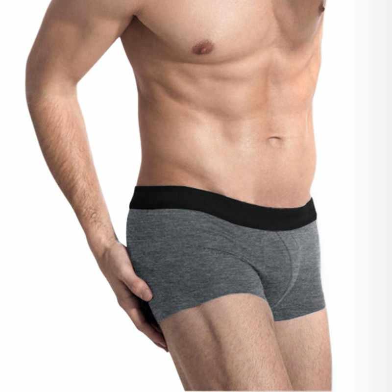 cfcd9602153d3 Мужские трусы боксеры шорты мужские сексуальные нормальный размер Мужское  нижнее белье мужские хлопковые боксеры 2018 мужские