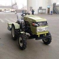 12HP маленький четырехколесный трактор Горячая продажа Тип фермерские земли домашнее оборудование мотоплуг