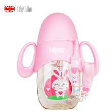 baby bottle ppsu plastic wide bore Prevent breaking bottle Baby PPSU Milk Feeding