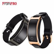 FROMPRO CK11S Smart Bracelet Wristband Blood Pressure Watch Blood Oxygen Heart Rate Monitor Pedometer IP67 Waterproof