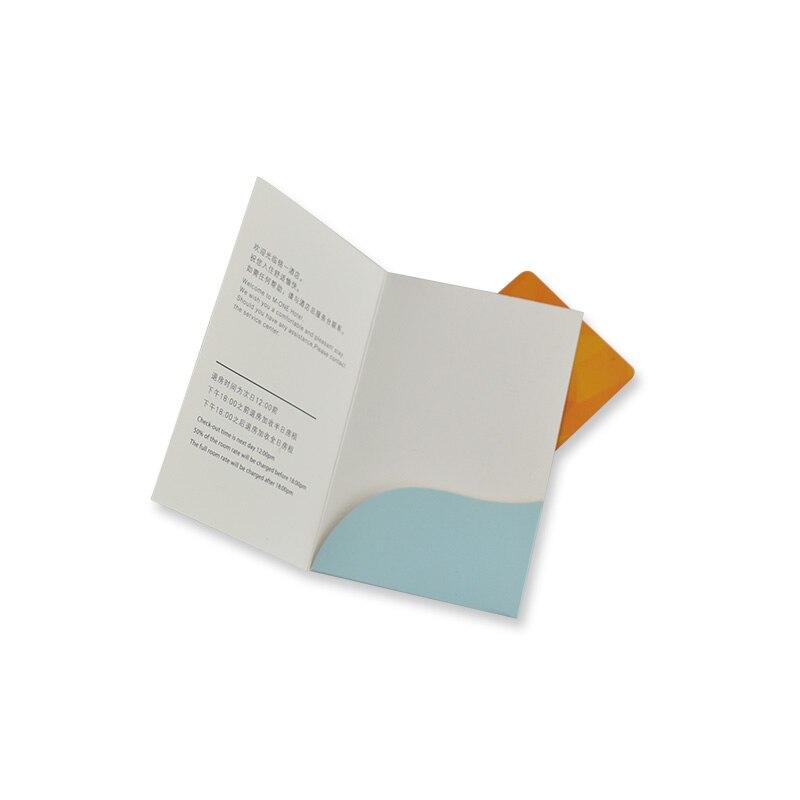 Zuoluo Hotel Key Card Holder Printing With Custom Design