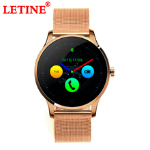 Купить с кэшбэком Answer Call Smart Watch 1.22 Inch IPS Round Screen Support Sport Heart Rate Monitor Bluetooth K88H Wristwatch For IOS Android