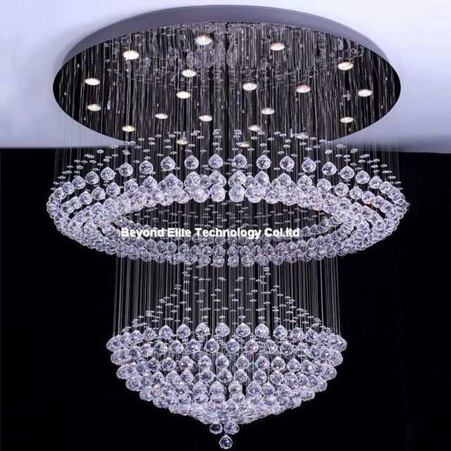 crystal chandelier modern k9 chandeliers ceiling hotel crystal plafon lamp light fixtures modern crystal chandelier - Modern Crystal Chandeliers
