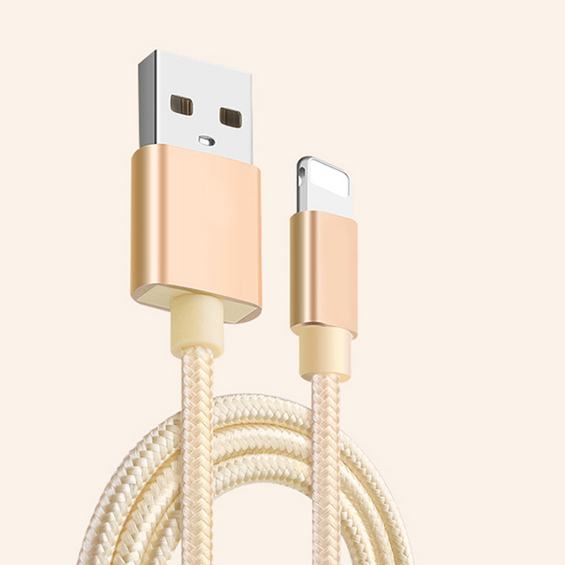 Micro USB Android Type-C data cable usb Data Charger Charging for iphone 7 6 Fast Charging Smart Compatibility Nylon Material