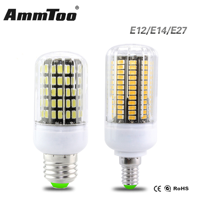 E27 E14 Led Light Lamp 3w 4w 5w 7w 8w 10w E12 Bulb 110v 127v