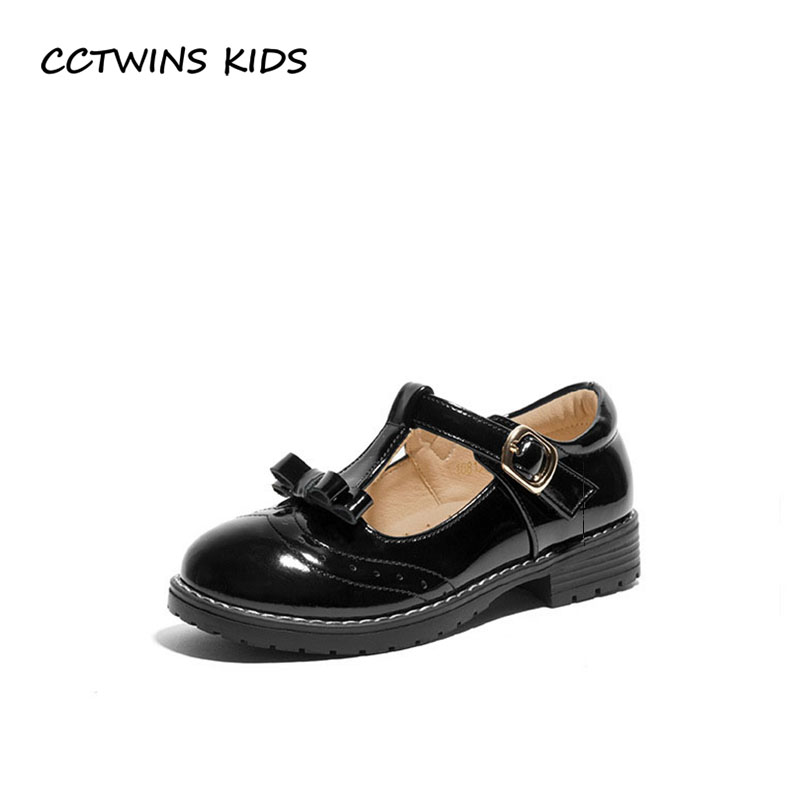 CCTWINS KIDS 2018 Autumn Children Butterfly Party Shoe Baby Girl Fashion Mary Jane Toddler Genuine Leather Flat GM2146 cctwins kids 2018 spring fashion pink princess butterfly shoe children genuine leather mary jane baby girl party flat gm1942