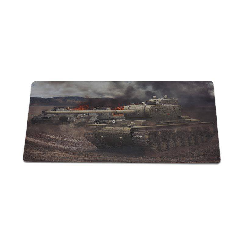 Yinuoda hot sale World of tanks cool tank Laptop Computer Mousepad Size for 30x60cm and 30x60cm Gaming Mousepads