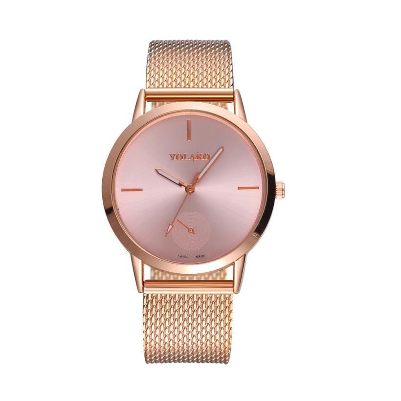 timezone-501-fashion-alloy-belt-mesh-watch-unisex-women's-watches-minimalist-style-quartz-watch