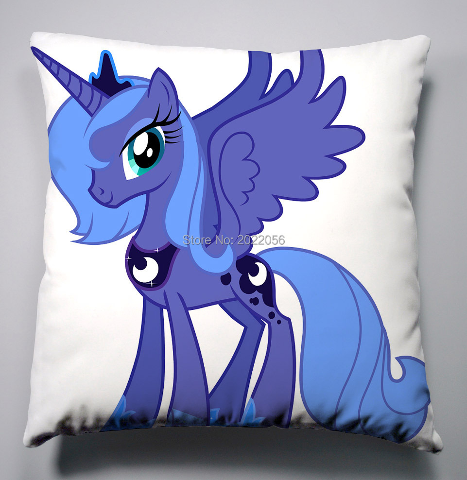 Lenzuola My Little Pony.Us 6 89 Anime Manga My Little Pony Rainbow Horse Pillow 40x40cm Pillow Case Cover Seat Bedding Cushion 007 In Pillow Case From Home Garden On