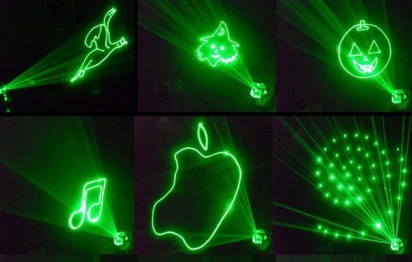 Ac110vto 240v Mini Led Animated Graphics Laser Light Show