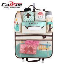 Storage-Bag Seat-Protector Back-Organizer Travel-Accessory Car-Seat Multi-Pocket Kids