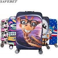 SAFEBET Brand Elastic Luggage Protective Cover For 19 32 Inch Trolley Suitcase Protect Dust Bag Case
