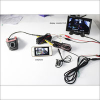 For VW Passat Car Wifi DVR Dual Camera Car Driving Video Recorder Hidden Installation FHD 1080P