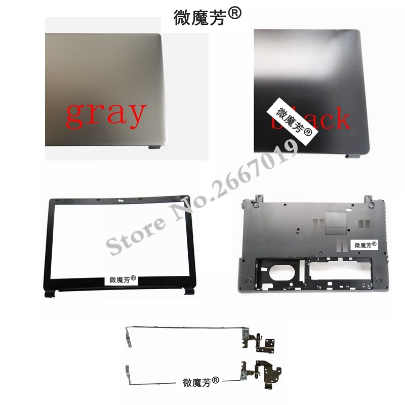 laptop Bottom Base Cover for Acer E1-510 E1-530 E1-532 E1-570 E1-572 E1-572G E1-532G V5WE2 Z5WE1 Bezel Cover/LCD hinges quying laptop lcd screen for acer aspire m3 581tpg f5 571 e1 572 e1 530 e1 532 e1 570 e1 570g series 15 6 inch 1366x768 30pin