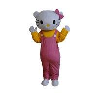 Gorąca wyprzedaż! wysokiej jakości 2016 hello kitty maskotki kostium kot maskotka dla dorosłych sprzedaży