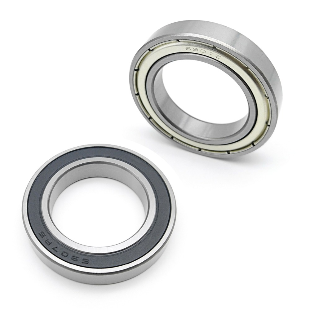 6907RS 35x55x10 Sealed 35mm//55mm//10mm Deep Groove Radial Ball Bearings