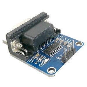 Image 3 - MCIGICM 100pcs MAX3232 RS232 to TTL Serial Port Converter Module DB9 Connector MAX232