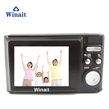 Winait 2017 popular DC-V700 digital camera with 8.0 MP cmos sensor,8x zoom,sd card up to 32GB,anti- red -eye