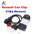 2017 Best Selling Renault Can Clip Newest Version V164 Auto Diagnostic tool for Renault  Multi-languages  with CNF Free
