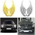 1 para 3D JDM naklejki metalowe anioły skrzydła samochód dekoracji znaczek z symbolem naklejka naklejka z logo Auto motocykl akcesoria Car Styling