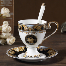 European Style Luxury Phnom Penh Bone ChinaCoffee Cup British Elegant Afternoon Tea Set Ceramic Coffee And Saucer