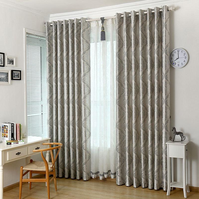 La decoraci n casera moderna cortina de algod n mezclas de - Lo ultimo en cortinas ...