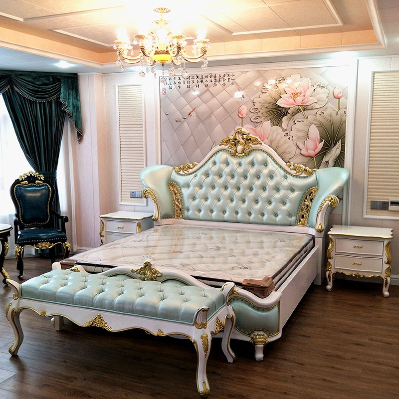 Bedroom Sets.Home Furniture General Use European Bedroom Furniture Style Bed In