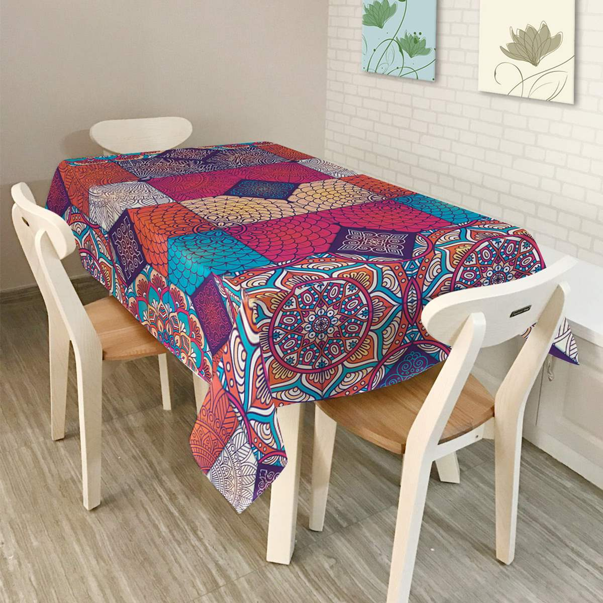waterproof oilproof square cover lilac bouquet vinyl tablecloth party table cloth starry sky digital cover for. beautiful ideas. Home Design Ideas