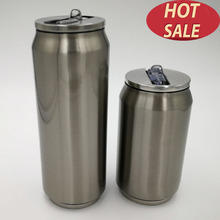 straw tea coffee mug thermos 300ml thermosfles 500ml travel stainless steel cute funny cup car insulated