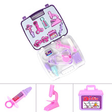 New 1Set Simulation Medicine Box Toys Play Doctor Tool Set Funny Game Kids Education Gift