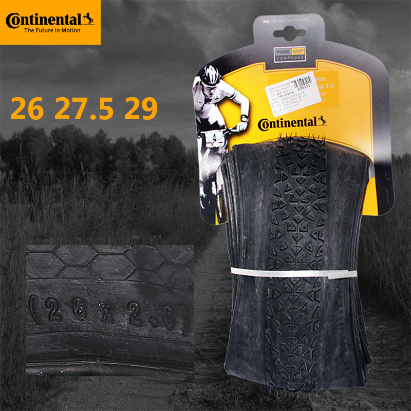 Continental 26 27.5 29 X 2.0 2.2 MTB Tire Race King Bicycle Tire Anti Puncture 180TPI Folding Tubeless Tire Tyre(China)