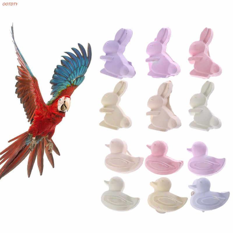 OOTDTY ptak papuga mały chomik kamień mineralny wapń gryzak królik zęby kamień szlifierski