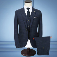 2017 Business Men Suit The Three Suits Business Attire To Marry The Groom Dress Wash And