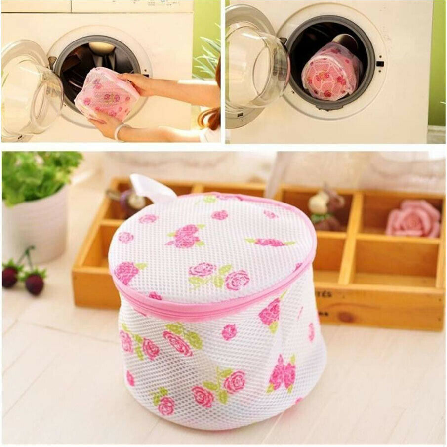 1 PC Laundry Washing Mesh Net Lingerie Underwear Bra Clothes Socks Wash Bag